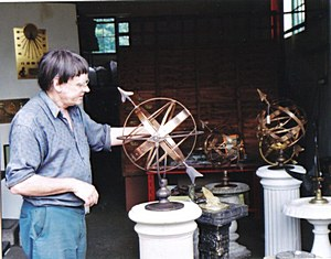 Robert Foster in Workshop